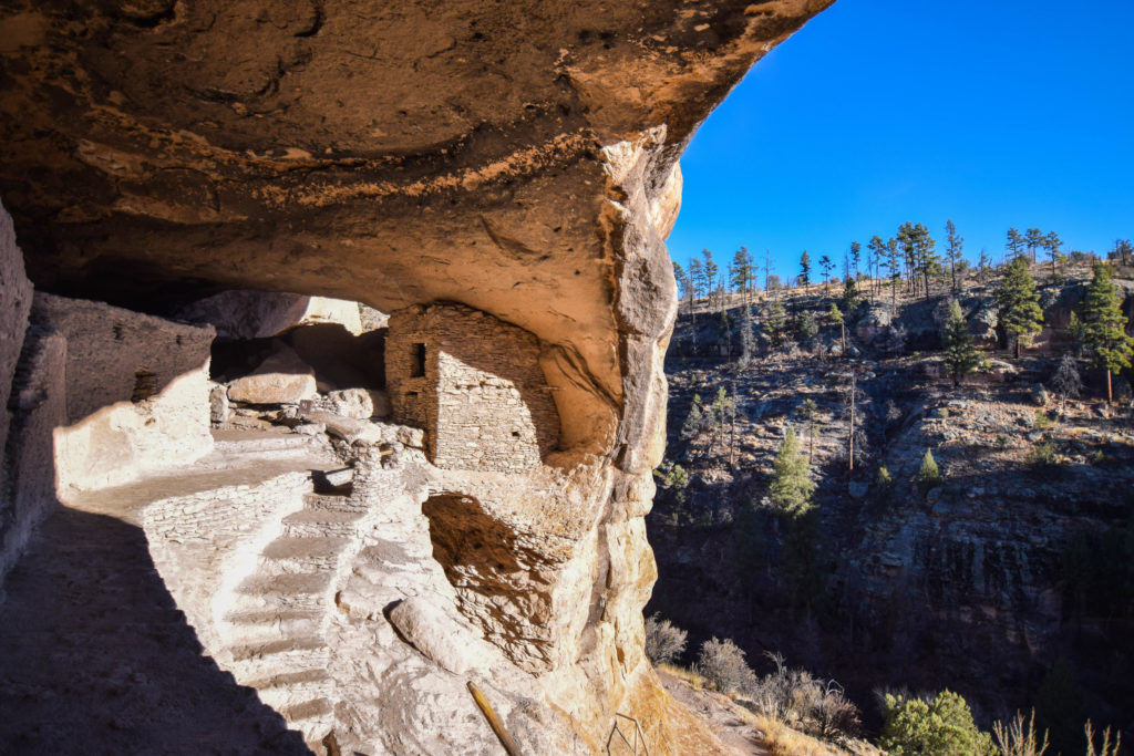 Gila Cliff Dwellings National Monument: Stepping Into The Past
