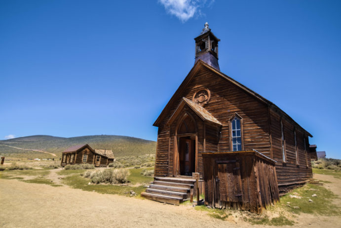 Bodie Ghost Town: A Historic Mining Town Frozen In Time