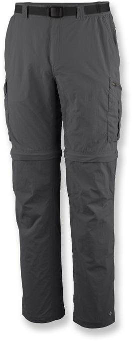 The Columbia Silver Ridge Convertible Pants cold weather clothing