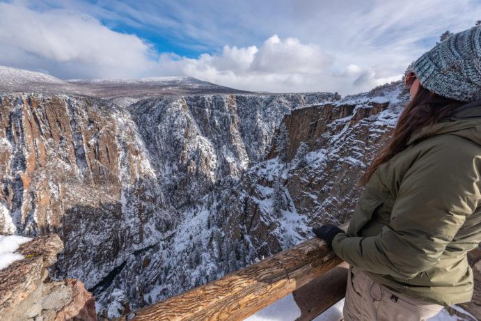 black canyon of the gunnison national park colorado road trip