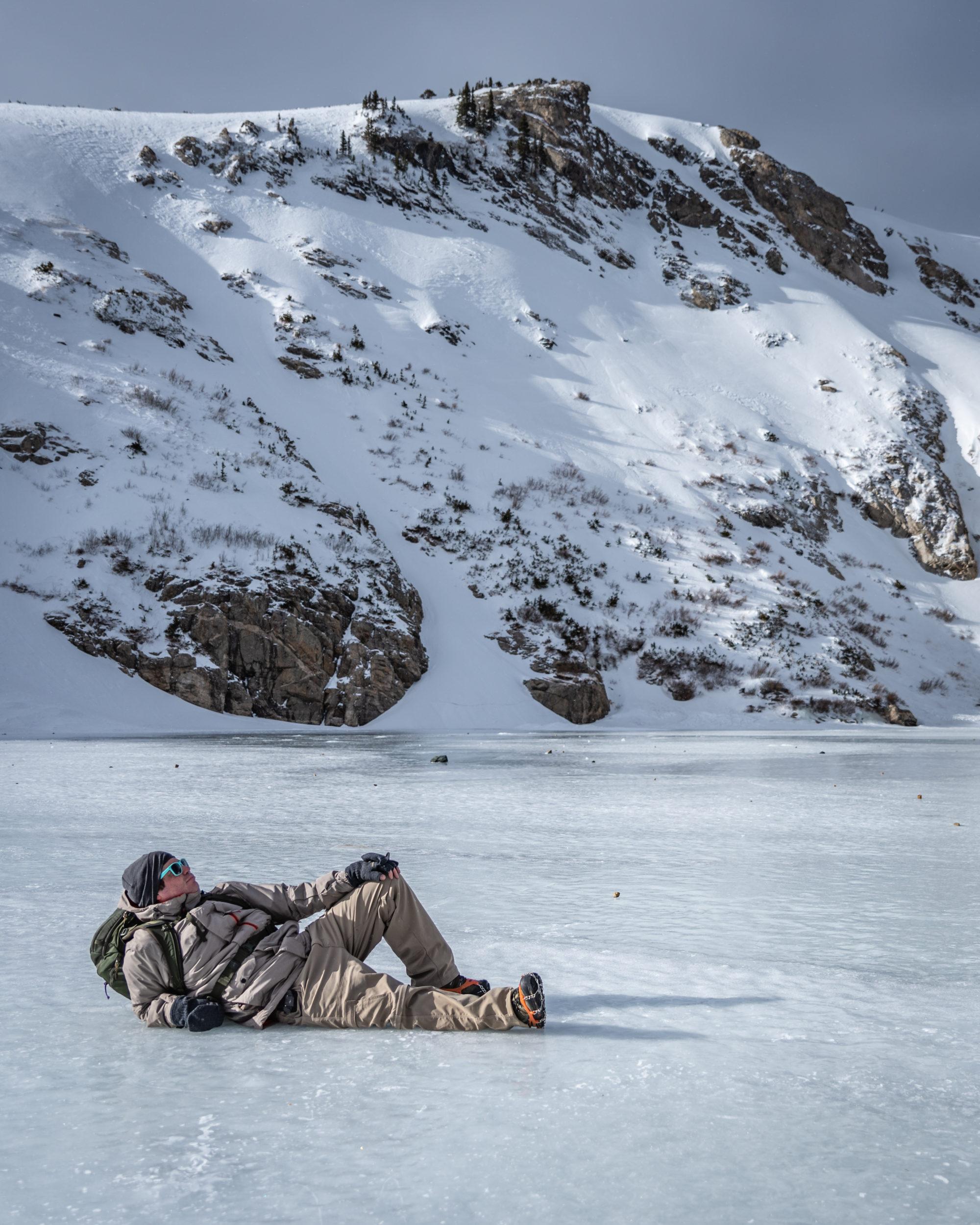 saint marys glacier trail colorado
