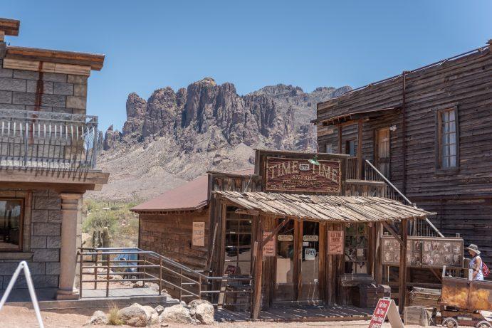 goldfield ghost town arizona